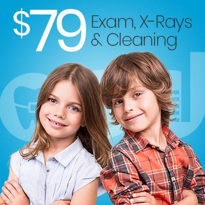 $79 new patient exam coupon